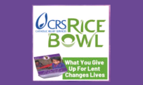 Operation Rice Bowl: Our Lenten Program